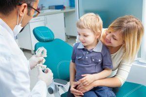 Травмы зубов у детей